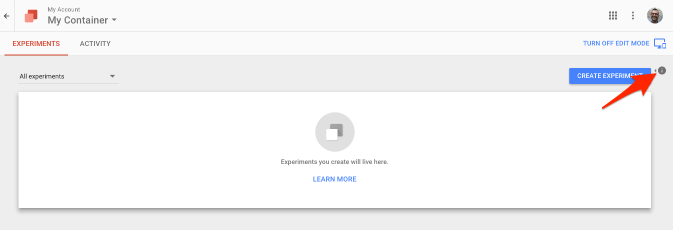 A/B Split test your landing pages for free with Google Optimize 1